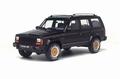 Jeep Cherokee Zwart  1/18