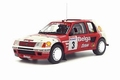 Peugeot 205 T16 Rally Ypres 1985 1/18