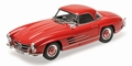 Mercedes Benz  300 SL Hard top Roadster 1954 Rood Red 1/18