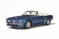 Aston Martin  V8 Vantage Volante Cabrio Blauw Blue 1/18