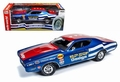Dodge Charger Super Bee 1971 Rood blauw  Red Blue 1/18