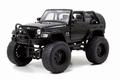 Jeep Wrangler Cabrio 2007 Zwart Black 1/24