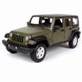 Jeep Wrangler Unlimited 2015 Groen  Green 1/24