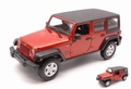 Jeep Wrangler Unlimited 2015 Koper  Copper 1/24