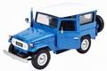 Toyota FJ 40 Land Cruiser Blauw  Blue 1/24