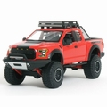Ford F - 150 Raptor  2017 Rood Red 1/24