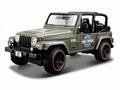 Jeep Wrangler Rubicon Harley Davidson Groen  Green 1/27