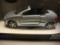 Peugeot 206 cc  Cabrio Zilver  Silver  1/24