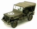 Jeep Willy's met huif - canvas 1/43