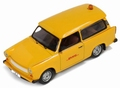 Trabant 601 Follow me DHL Leipzig Geel Yellow 1/43
