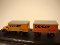 Magirus Deutz S6500 with trailer Dunlop 1/43