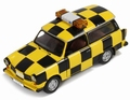 Trabant 601 Follow me Leipzig  Geel/zwart Yellow/black 1/43