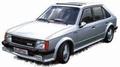 Opel Kadett B GT/E Zilver  Silver 1983 1/43
