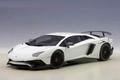 Lamborghini Aventador LP750-4 sv Bianco canopus /pearl white 1/18