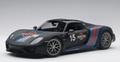 Porsche 918 spyder Zwart Black Martini # 15 1/18