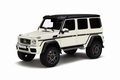 Mercedes Benz  G500 Wit  White  1/18