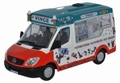 Mercedes Benz Sprinter Vince Ice cream 1/43