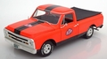Chevrolet 1968 C-10 Pick up orange black + extra cover 1/18