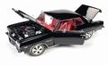 Chevrolet Chevy Chevelle Z-16 1965 Zwart Black 1/18