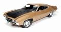 Ford Torino Cobra 1970 Goud zwart  Gold Black 1/18