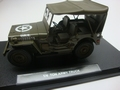 Jeep Willys US Army soft top  1945 leger groen  army green 1/18