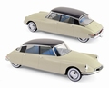 Citroen DS 19 Pallas Beige 1956 1/18