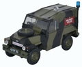 Land Rover 1/2 ton Light weight Militairy Police Politie 1/43