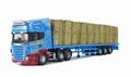 Scania R Fladbed & staw load  CC13735 1/50