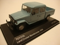 Toyota Land Cruiser Bandeirante Pick up 1976  1/43