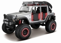 Jeep wrangler unlimited 2015 Grijs Grey 1/24