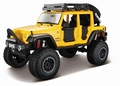 Jeep wrangler unlimited 2015 Geel  Yellow 1/24