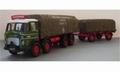Leyland  Octopus sheeted olatform & drawbar trailer CC10601 1/50