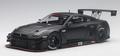 Nissan GT-R Nismo GT3 2015 Matt black  Mat zwart 1/18