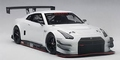 Nissan GT-R Nismo GT3 White  Wit 2015 1/18