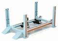 Four post lift werkbrug Licht blauw - Oranje
