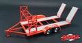 Auto - car trailer aanhangwagen Rood Red