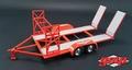 Auto - car trailer aanhangwagen Rood Red