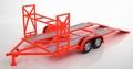Auto - car trailer aanhangwagen Orange Red   Oranje Rood STP 1/18