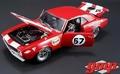 Chevrolet Camaro  Z / 28 #57 Heinrich Chevyland 1967 Red  1/18