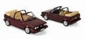 VW golf Cabriolet 1992 red metallic rood 1/18