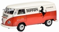 VW Volkswagen  T1 Transporter Ferrari Rood wit  Red White 1/18