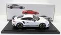 Porsche 911 991 Turbo S White Wit 40 Jubilee edition 1/18