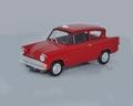 Ford Anglia MK I  Red Rood 1/43