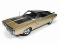 Dodge Charger R/T SE 1970  Goud/zwart  Gold/black 1/18