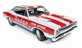 Dodge Super Bee 1969 Red White Rood Wit John Petrie 1/18