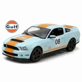 Ford Shelby GT500 Mustang 2012 Gulf # 08 Gulf Colors 1/18