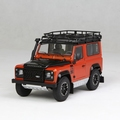 Land rover Defender 90 Final edition Phenix orange metallic 1/18
