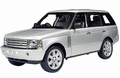 Range  Rover Zilver Silver  1/18