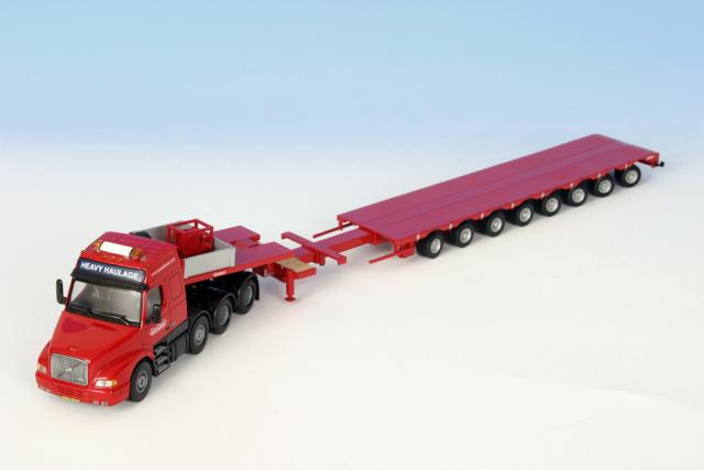 Volvo NH  Nooteboom 8 axle semi loader 1/50