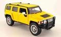 Hummer H3 Geel  Yellow 1/18